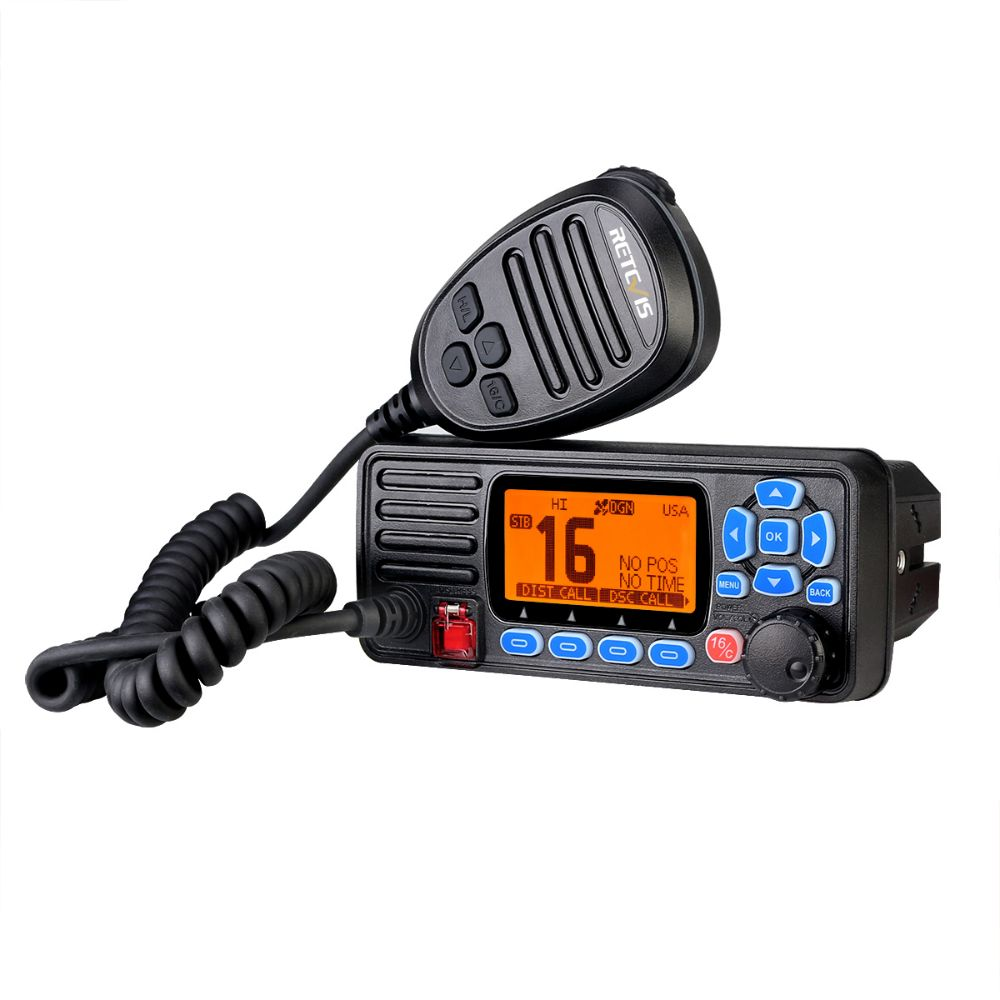 Retevis Marine-RA27 Fixed mount marine radio with GPS&DSC functions
